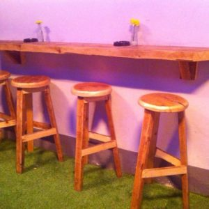 Upcycled Bar Stools