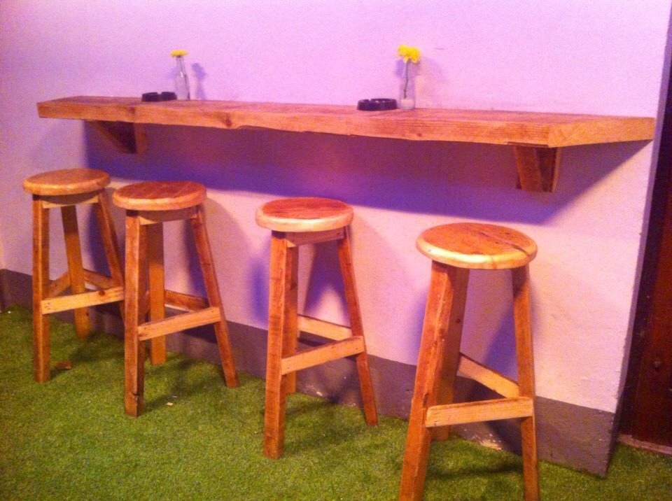 Upcycled Bar Stools Greenworx Landscaping : back page timber stools from greenworx.ie size 960 x 716 jpeg 118kB